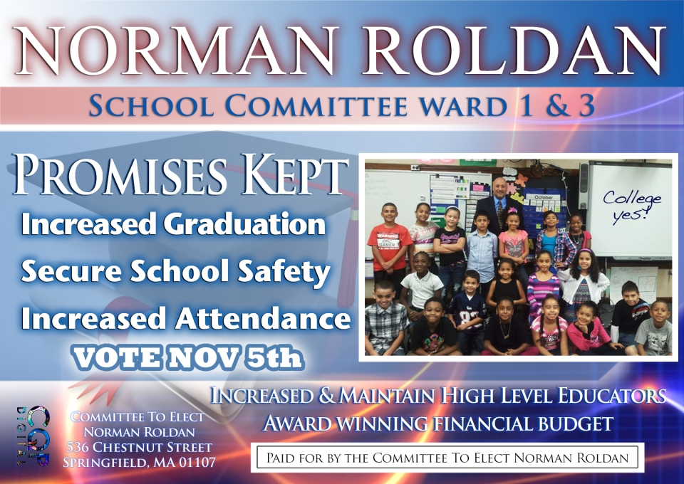 Norman Roldan Flyer
